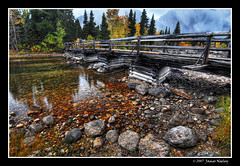 The Crossing (James Neeley) Tags: creek landscape stream wyoming tetons hdr grandtetonnationalpark jennylake cottonwoodcreek 5xp jamesneeley theperfectphotographer