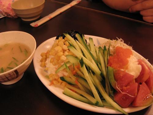 好吃的蔬菜沙拉