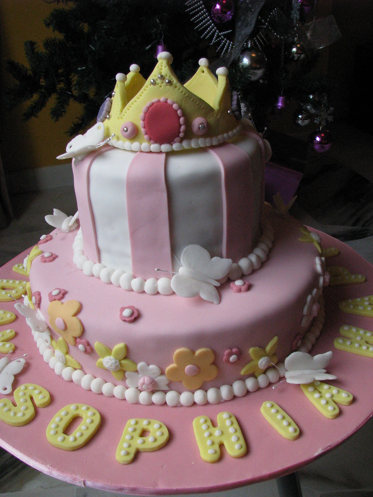 Princessy Birthday Cake
