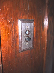 House detail: Light switch