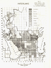 Distribution of Ethnic Groups in the Interlake Region (1961) (Manitoba Historical Maps) Tags: history maps manitoba population interlake cartographymanitobahistory