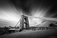 Suspension of Time (Gary Newman) Tags: uk longexposure bridge england bw d50 bristol suspension clifton sigma1020 flickrsbest theperfectphotographer dapagroupmeritaward3 dapagroupmeritaward4 dapagroupmeritaward2