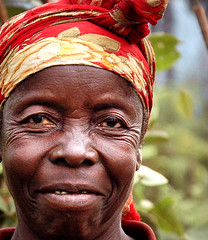 I Am Strong (JakeBrewer) Tags: africa color portraits eyes women vivid strength congo scarves entrepreneurs drc 2007 eastafrica socialentrepreneurs interestingfaces democraticrepublicofcongo africanwomen anawesomeshot mwenga