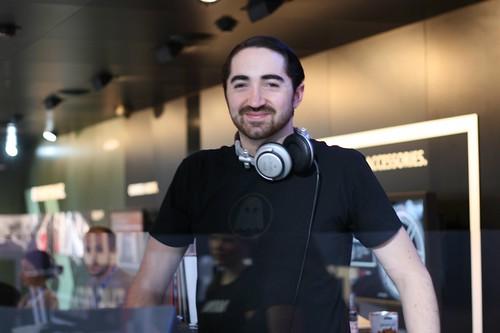 Sam Valenti IV DJ'ing at Mini