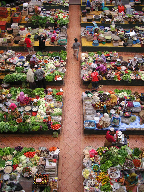 Kota Bharu Malaysia  City pictures : Kota Bharu's Central Market | The Last Appetite