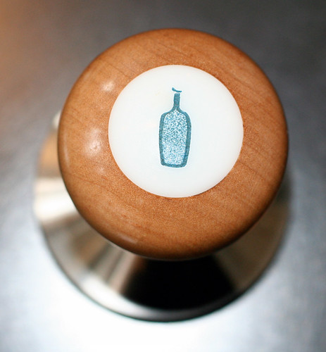 Blue Bottle tamper
