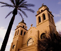 St. Mary's Basilica (Kat Davis ) Tags: arizona church phoenix catholic roman downtownphoenix novideo stmarysbasilica arizonawonders kathydavis flickrgolfclub 7daysofshooting traditionalthursday 20thcenturyprewwiiarchitecture valleyfothesun katdavis katdavisphotography