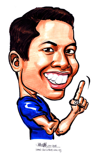 Caricature Barclay 270108