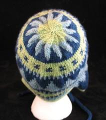 Earflap Hat Top