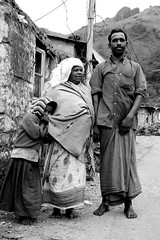 Rural Family portrait, Man, woman and child, Kerala, India (E. B. Sylvester) Tags: family bw woman india man girl kid child culture pride kerala inde munnar ebsylvester