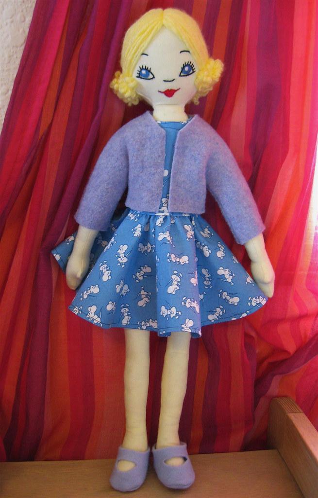 Handmade Betsy Doll