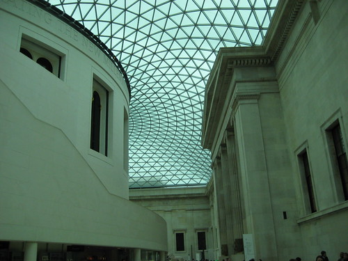 Courtyard of British Museum