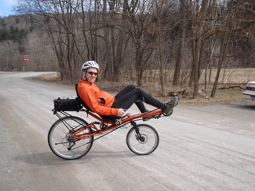 Scott on the HP Velo.