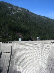 Ross Dam and Blue Sky