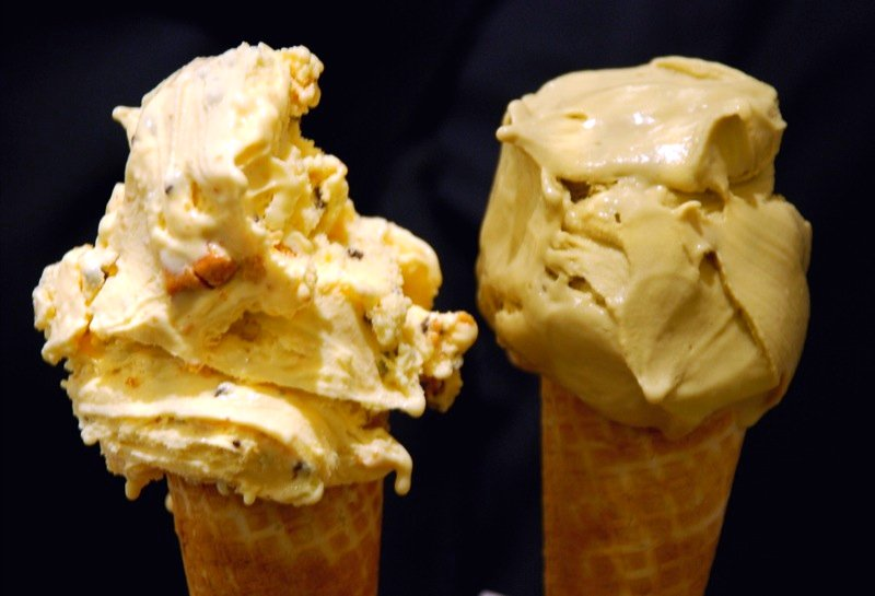 Crema di Grom & Pistacchio (gelato)