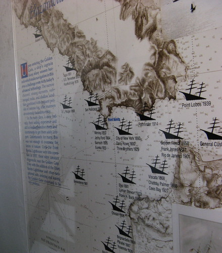 Poster of ill-fated ships