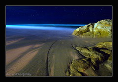 Blue Horizon (Garry - www.visionandimagination.com) Tags: ocean blue sea seascape art beach water night stars seaside sand rocks surf waves oz australia aus bluehorizon blueribbonwinner oacific excellentphotographerawards bestofaustralia visionandimagination wwwvisionandimaginationcom