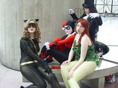 Gotham Girls (mew_pudding) Tags: new york girls woman man cat comics penguin dc 60s doll comic gallery dolls bat ivy harley ugly batman quinn joker rogue poison pamela gotham catwoman con isley zatanna rogues harleen nycc quinzel