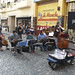 Tango players in San Telmo Market