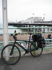 Bad Boy by the pier - 4.5 hours in the saddle and I was by the sea! (marcus_jb1973) Tags: bike bicycle sussex pier brighton cannondale badboy badboy8 badboy:model=8 badboy:brakes=disc badboy:suspension=no