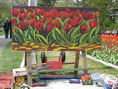 Tulipfest art