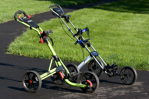 The Golf Push Cart is Convenient, Saves Time and Boosts Health
