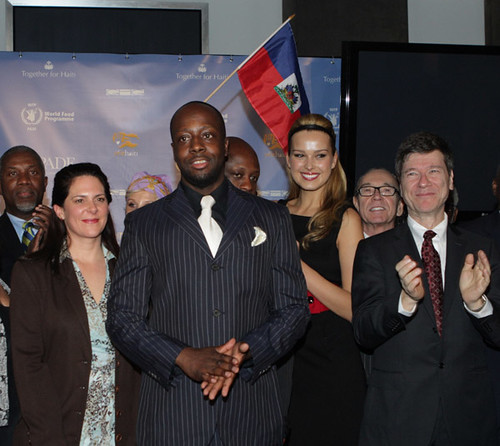 wyclef together for haiti
