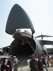 Front: Lockheed C-5 Galaxy