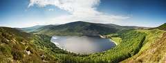 Lough Tay and Luggala, Co Wicklow, Ireland (jogorman) Tags: road county trees ireland sky panorama mountain lake clouds forest europa europe lough lock military eire tay mount te wicklow irlanda irlande    luggala fancymountain   r115 jamesogorman  diamondclassphotographer flickrdiamond  mikewastheretoo r759