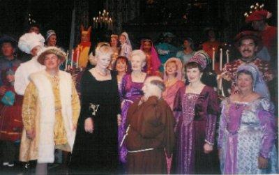 2007 Cast of the Bracebridge Dinner. Photo by csssteward.