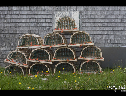 Lobster Cages of Neils Harbor