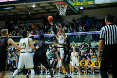 USF Basketball vs SCU 66 (donsathletics) Tags: universityofsanfranciscodonsmensbasketball usf mens basketball vs scu 66 jordan ratinho dons sports team