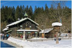 Trifter-klause Schwellhäusl in Beieren ... (Martha de Jong-Lantink) Tags: 2017 bayerischerwald beieren beiersewoud bischofmais duitsland kras krastelegraafwandelweek2017 nationaalparkbeiersewoud nationalparkbayerischerwald schwellhäusl sneeuw winterwandelweek