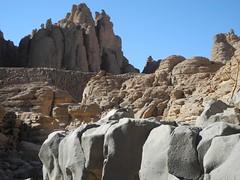 Chad Tibesti NE (ursulazrich) Tags: tschad chad ciad tchad sahara desert tibesti volcano vulkanismus basalt sandstone geology geologie volcanism