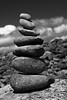 piles (Pockets1) Tags: ireland bw jason tower beach clouds canon town rocks clare stones patterns shapes pile 1785mm sizes 2009 piles œ 40d pockets1 jasontown