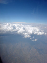 Near Los Angeles (that crafty girl) Tags: clouds landscape dramatic aerial layers viewfromthesky inthesky thecloudappreciationsociety