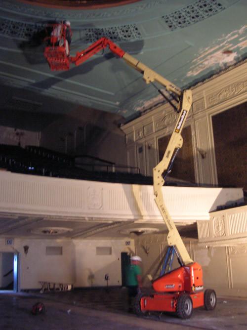 plaster damage inspection