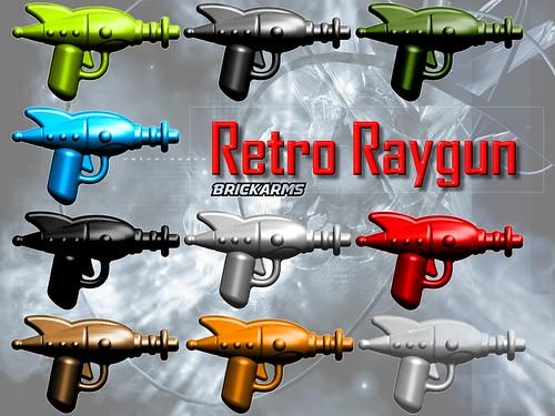 Custom minifig BrickArms Retro Ray Gun - Coming June 1st