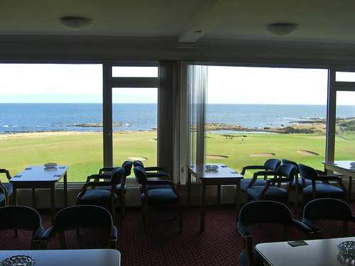 Balcomie Links Pub View
