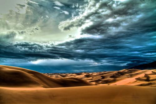 [フリー画像] 自然・風景, 砂漠, アメリカ合衆国, コロラド州, 201105231900