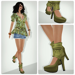 G Field Open Boots Vilda 2 (Anessa Stine) Tags: pink blue green gold blog shoes pumps desert bikini jungle footwear heels pm boho sandal wedge stilettos girafe gfield onyourtoes pixelmode anessastine mzshoes azoury shoefair2011