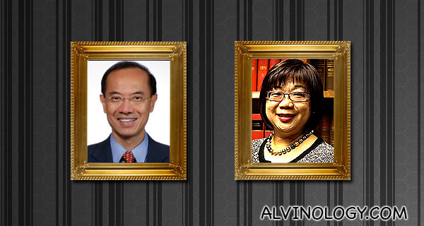Mr and Mrs George Yeo