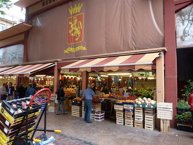 Entrance to the Ventimiglia Market