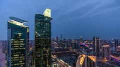 /The Highest Tower in Shanghai Puxi (casper shaw) Tags: city building architecture landscape photography nikon shanghai cbd   lujiazui              1835g 3