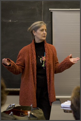 Elsebeth Lavold at the Seattle Nordic Knitting Conference, October 2007