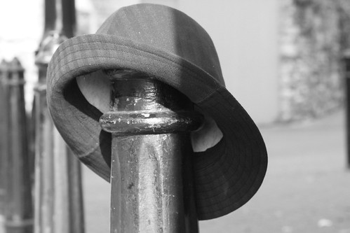 the abandoned hat by ludwig van standard lamp.