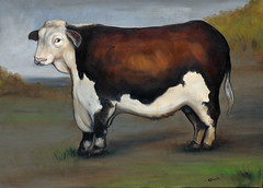 Cow02 (samfeinstein) Tags: painting cow nikon published d70s 60 copywork gallery50 publishedgallery50