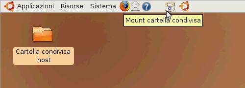 Fig. 30 - Mount script - icone avvio script disponibili sul pannello