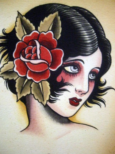 Vintage Tattoo Flash Art 20
