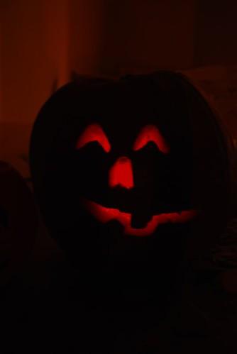 Violet's pumpkin